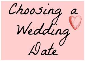 Choosing a Wedding Date