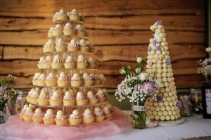 Lindt Ball wedding cake
