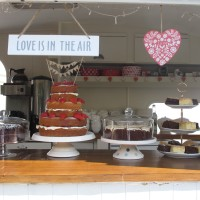 Two Birds Kitchen, Vintage Caravan, mobile tea room