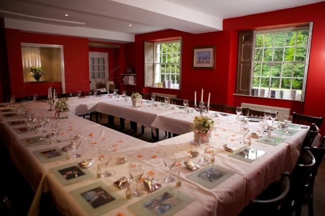 Large wedding table