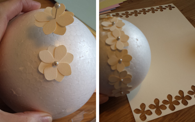DIY Flower Ball